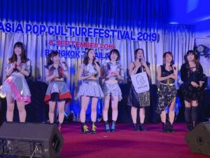 Asia Pop Culture Festival 2019 in Thailand, と応援少女